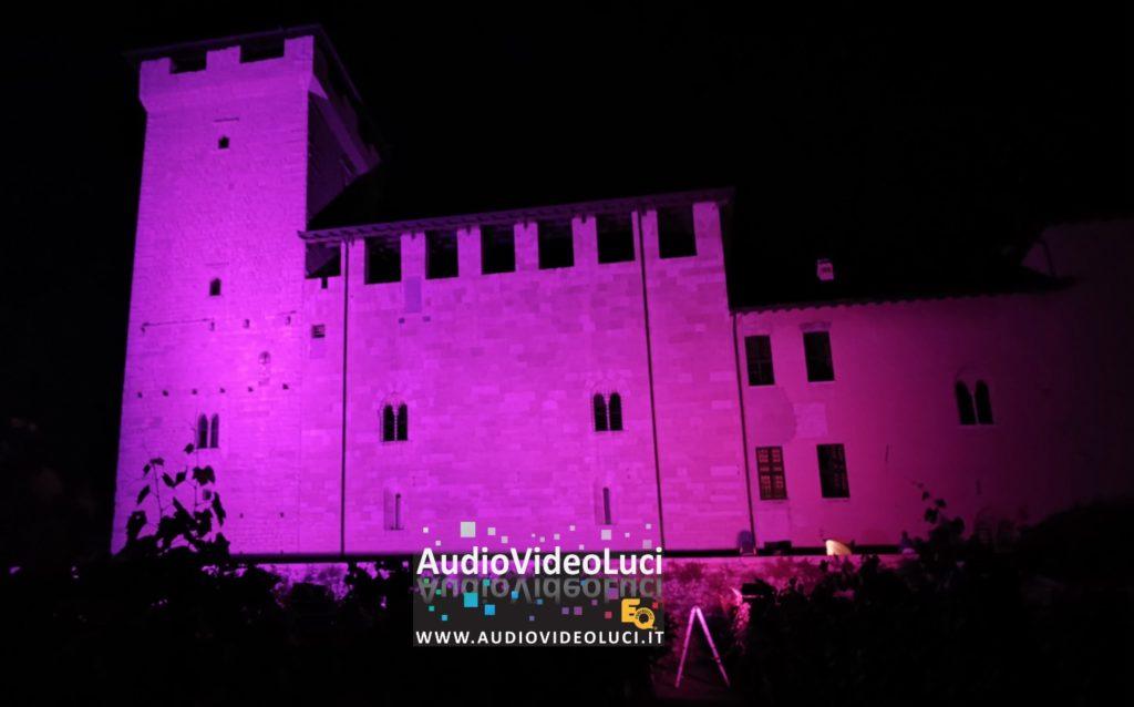#aronainrosa #audiovideoluci #roccadiangera
